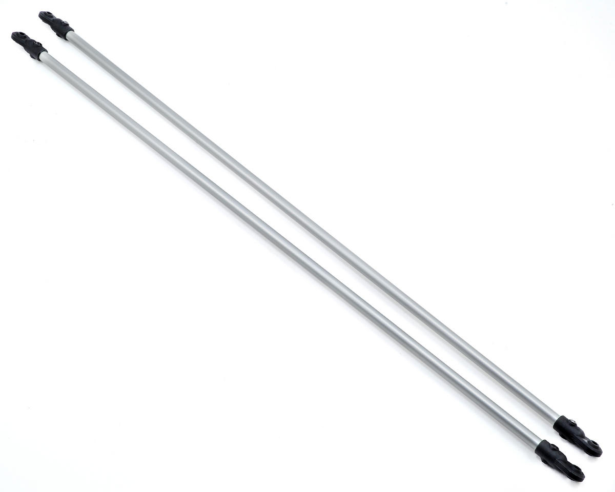 TSA Model Infusion 600E Pro Aluminum Tail Boom Support Set (Silver)