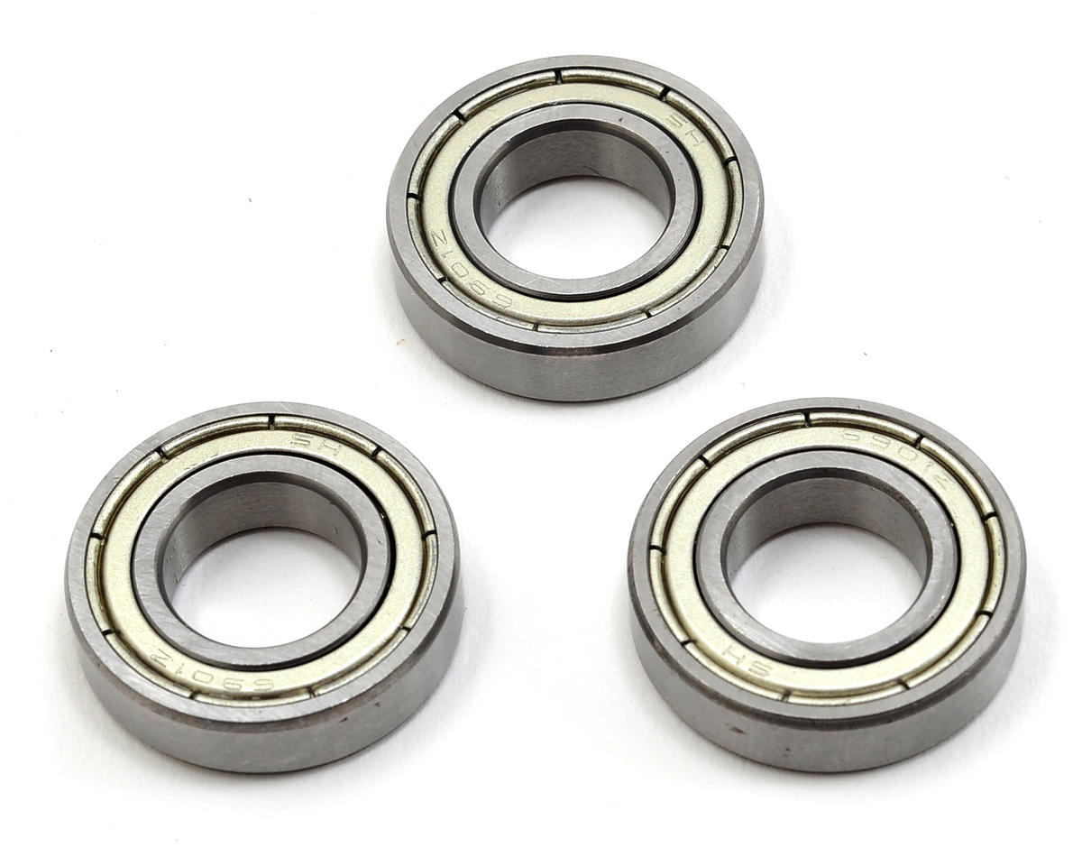 12x24x6mm Bearing Set (6901zz) (3) by TSA Model