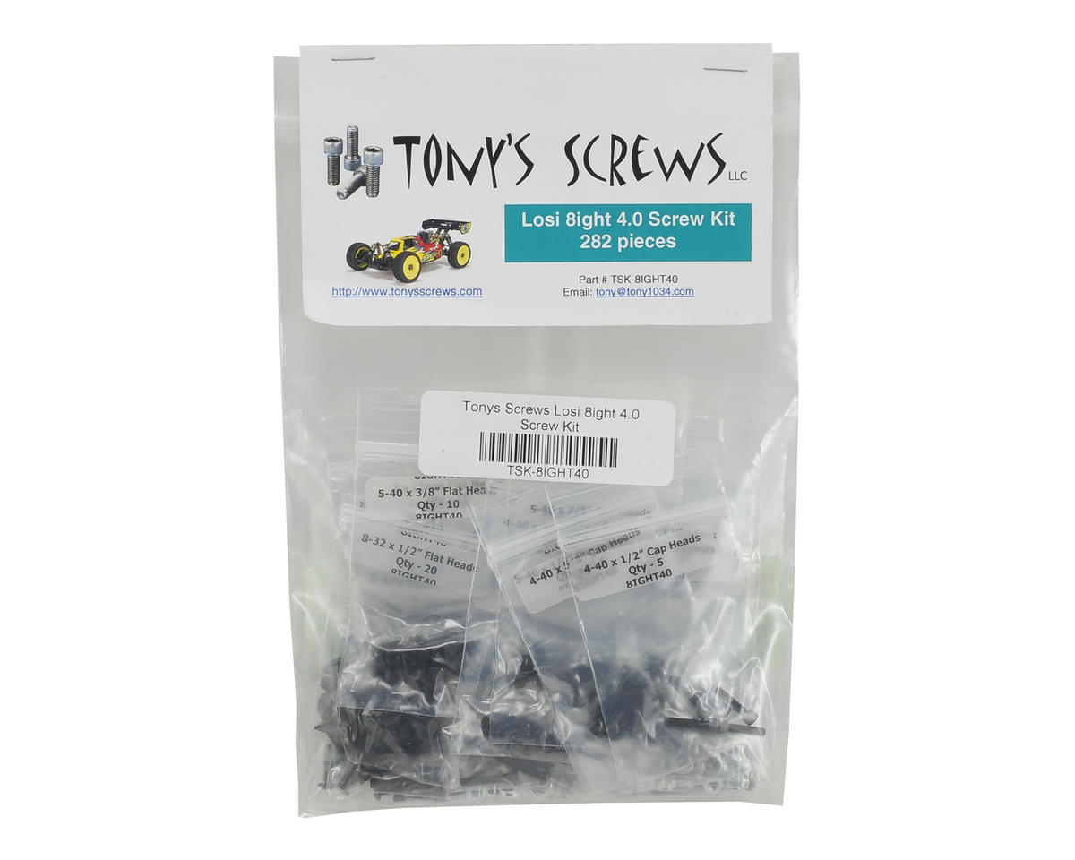 Losi 8ight 4.0 Screw Kit by Tonys Screws