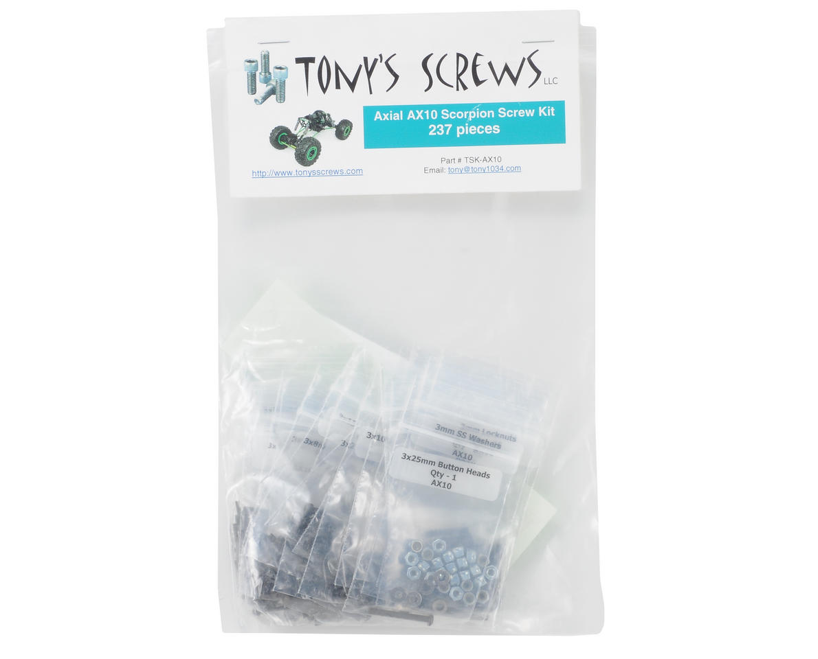 Tonys Screws Axial Scorpion Screw Kit
