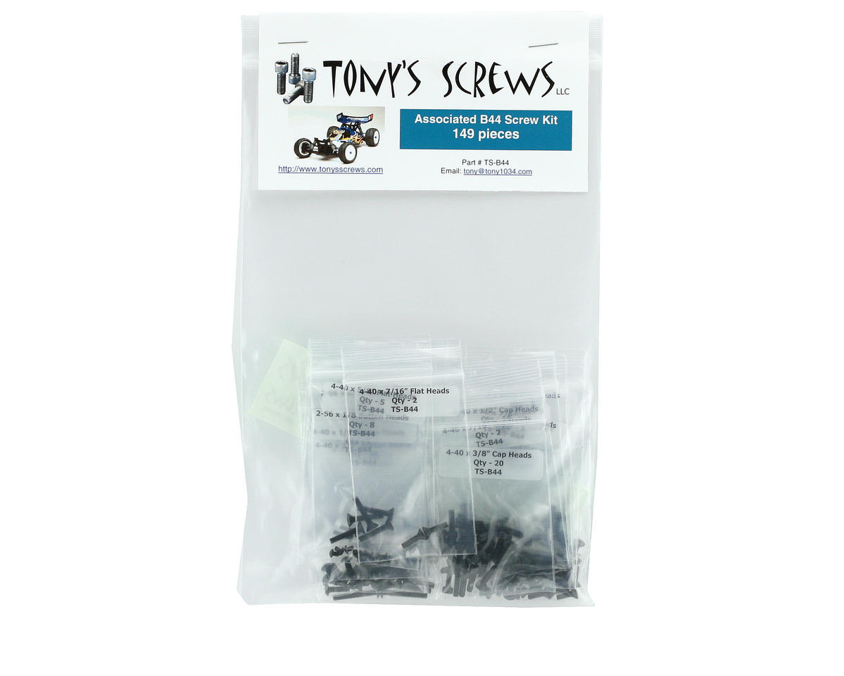Tonys Screws B44 Screw Kit