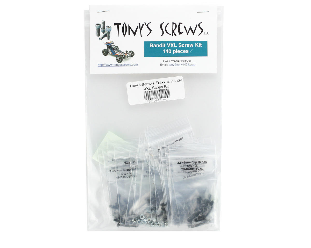 Tonys Screws Traxxas Bandit VXL Screw Kit