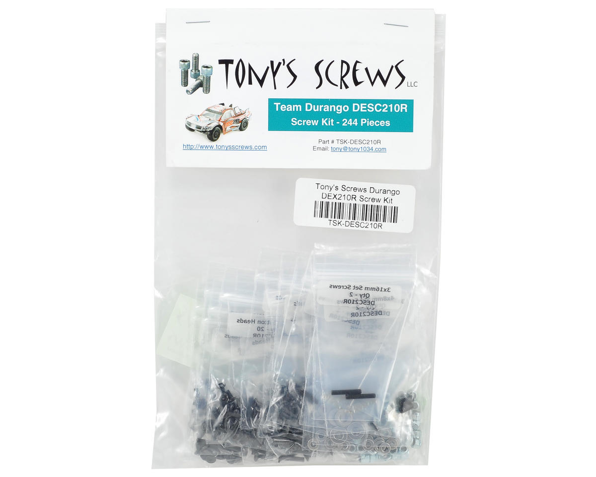 Tonys Screws Durango DESC210R Screw Kit