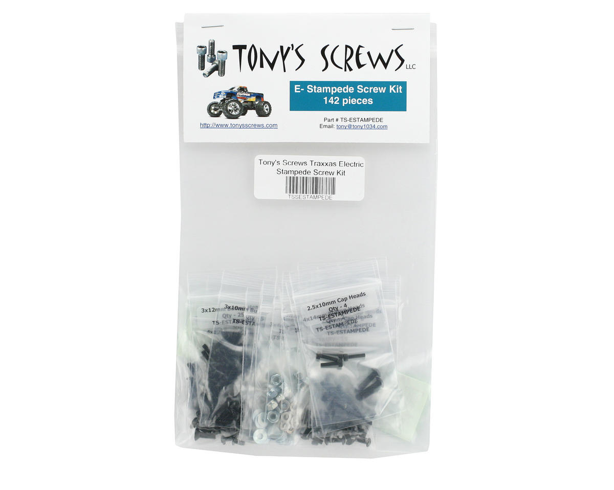 Tonys Screws Traxxas Electric Stampede Screw Kit
