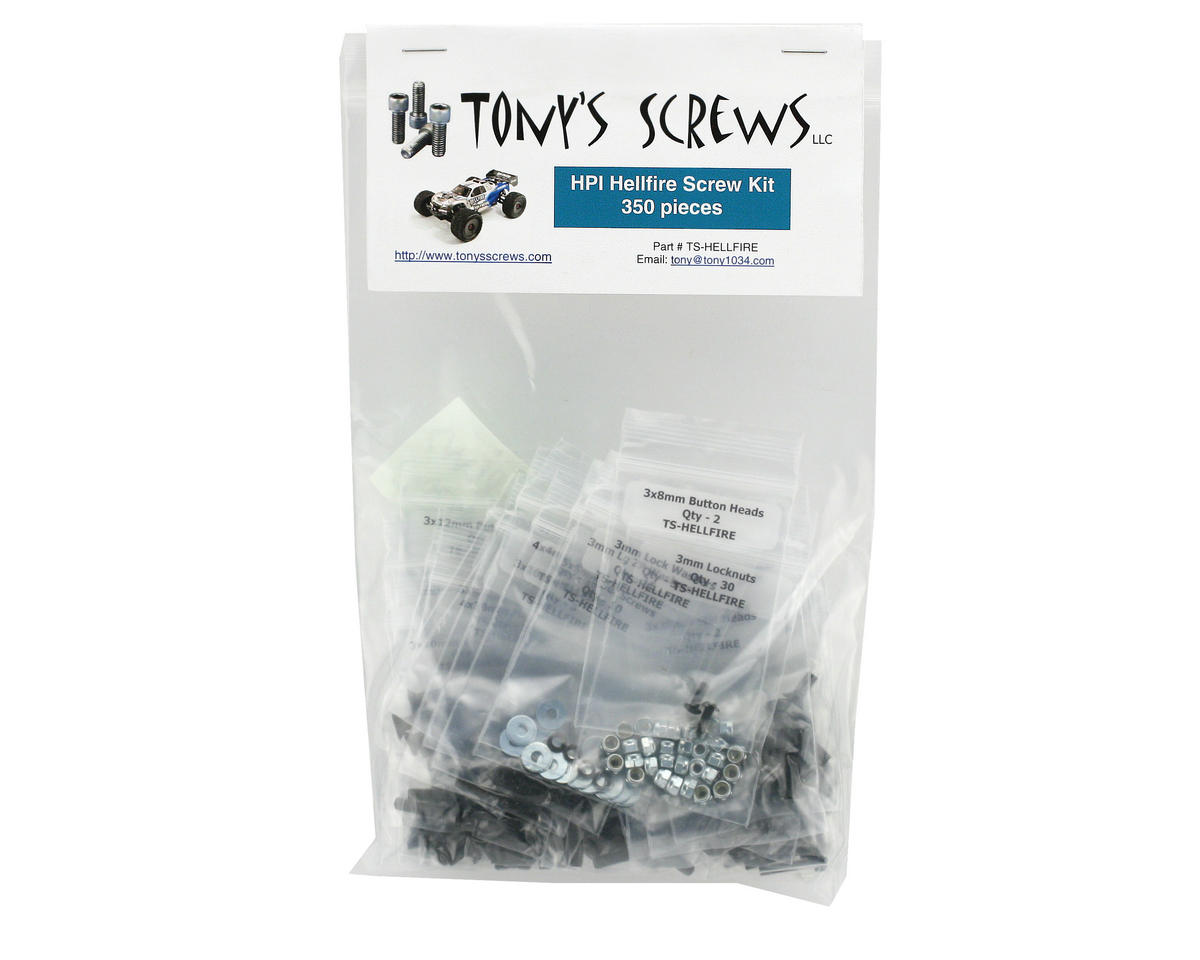Tonys Screws HPI Hellfire Screw Kit