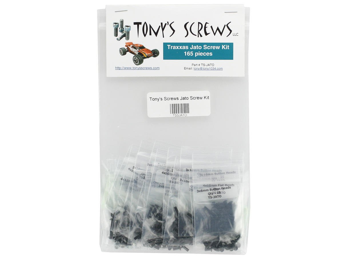 Tonys Screws Traxxas Jato Screw Kit