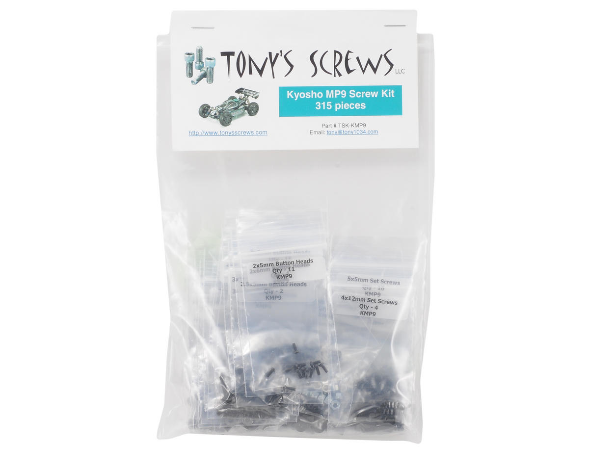 Kyosho MP9 Screw Kit by Tonys Screws