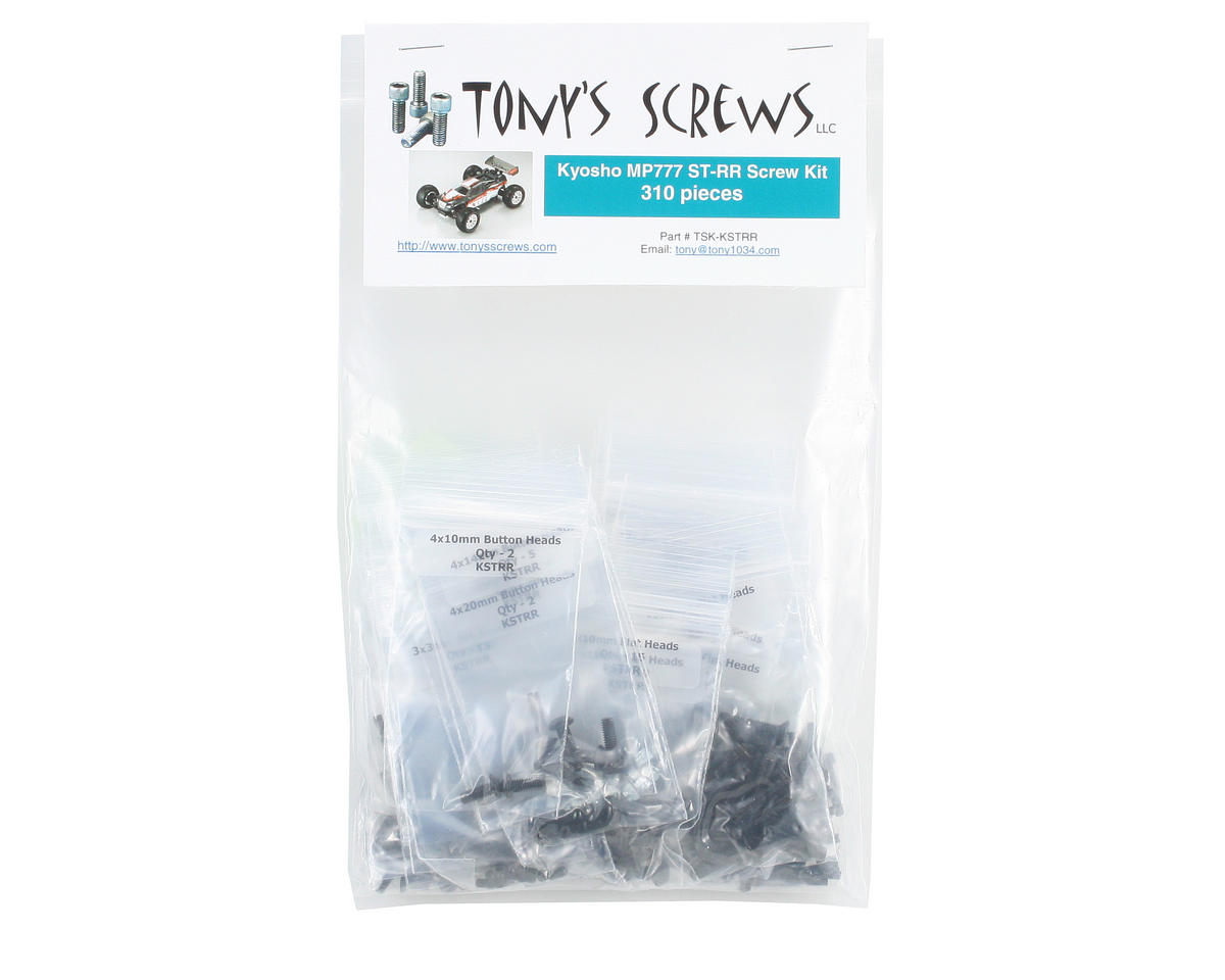Tonys Screws Kyosho Inferno ST-R/ST-RR Screw Kit