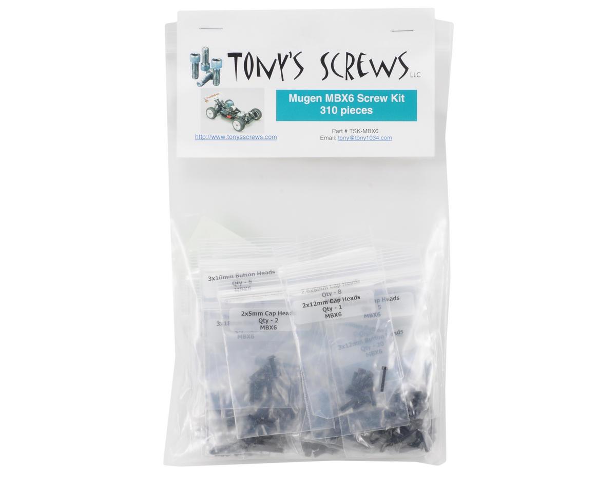Tonys Screws Mugen MBX6 Screw Kit