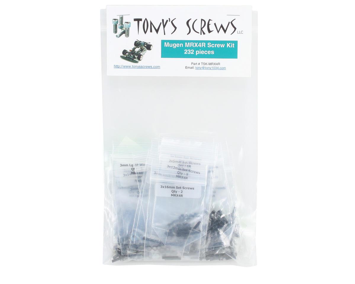 Tonys Screws Mugen MRX4R Screw Kit