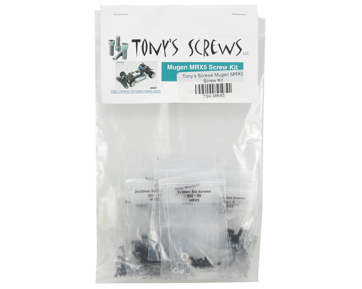 Tonys Screws Mugen MRX5 Screw Kit