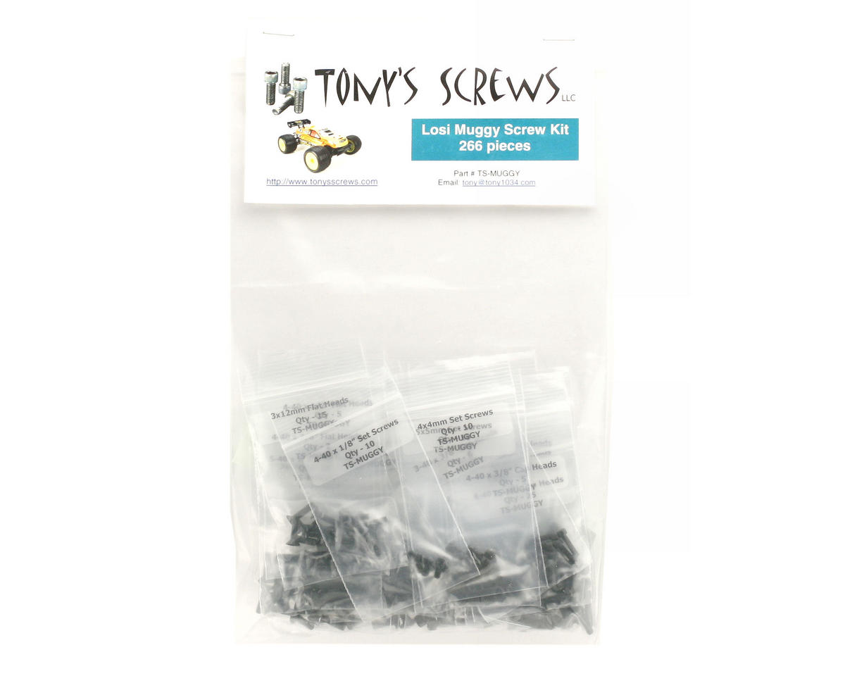 Tonys Screws Losi Muggy Screw Kit