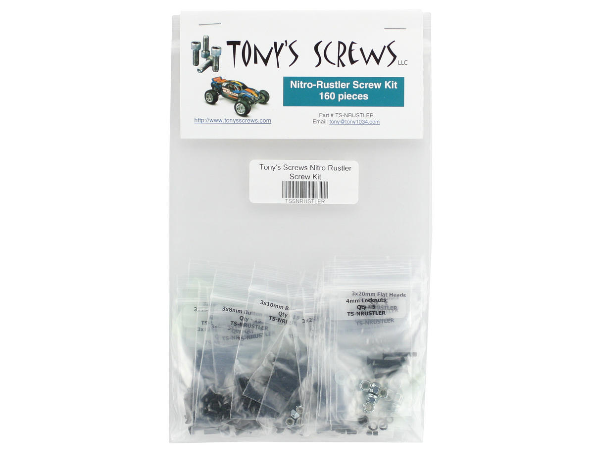 Tonys Screws Traxxas Nitro Rustler Screw Kit