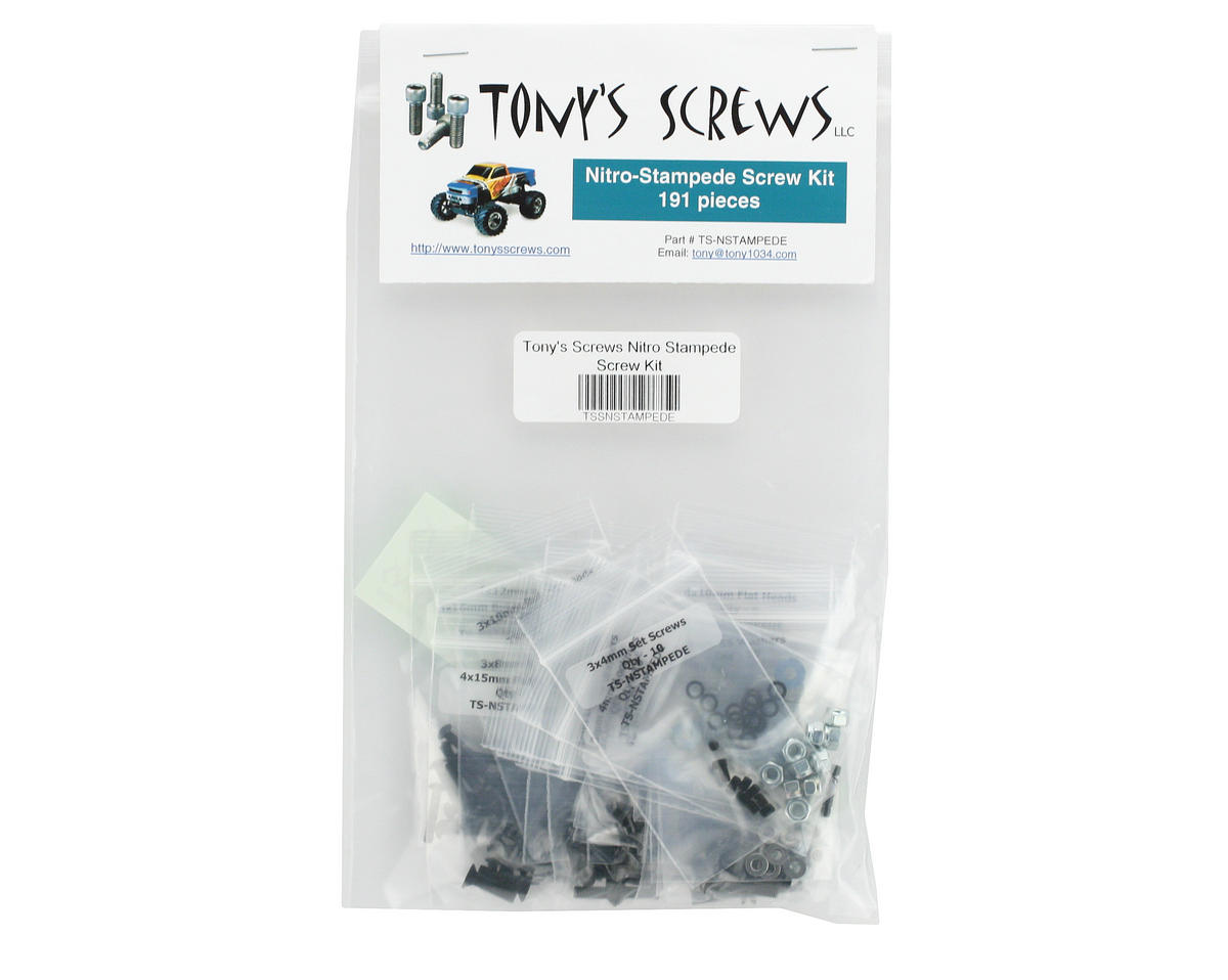 Tonys Screws Traxxas Nitro Stampede Screw Kit