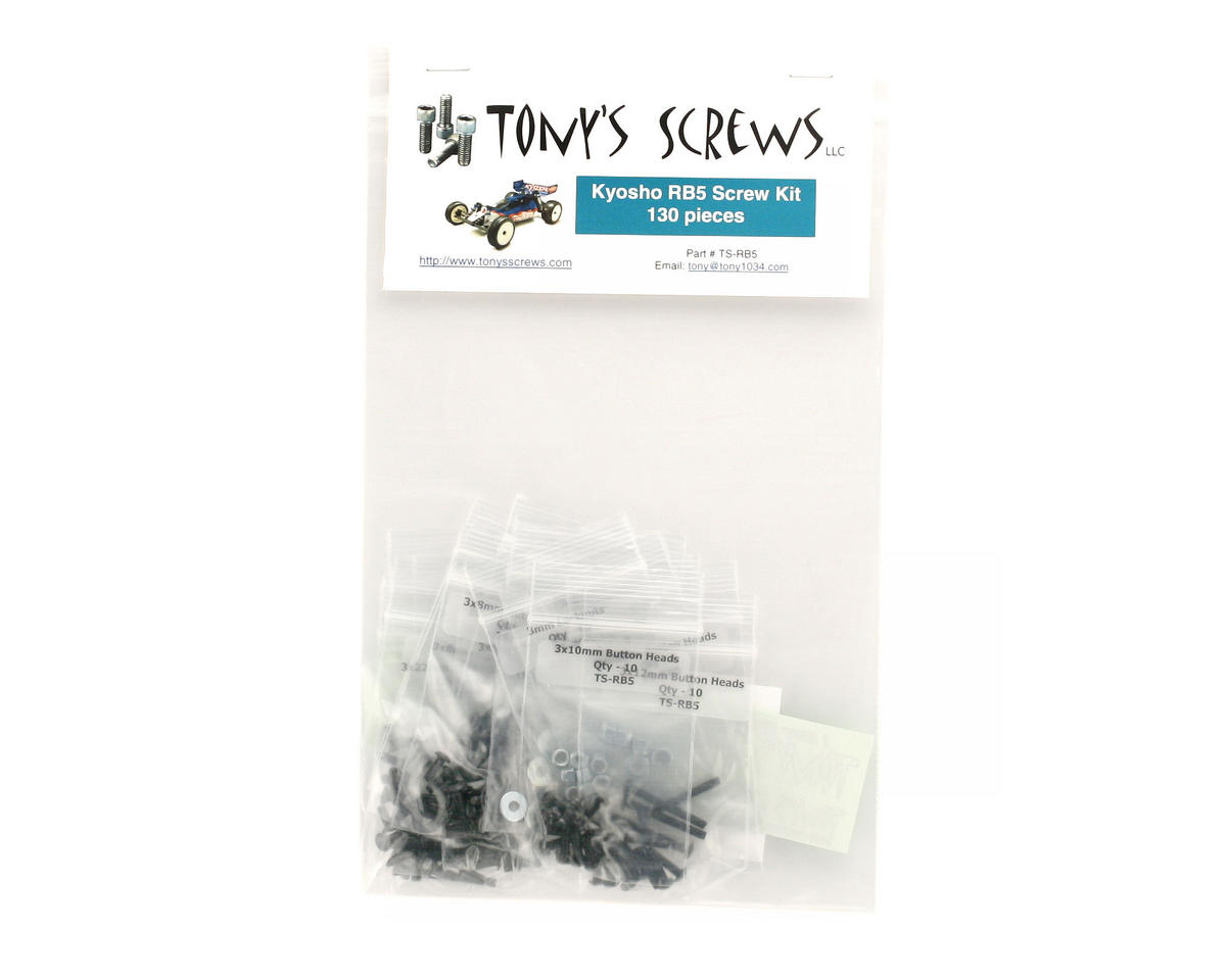 Tonys Screws Kyosho RB5 Screw Kit
