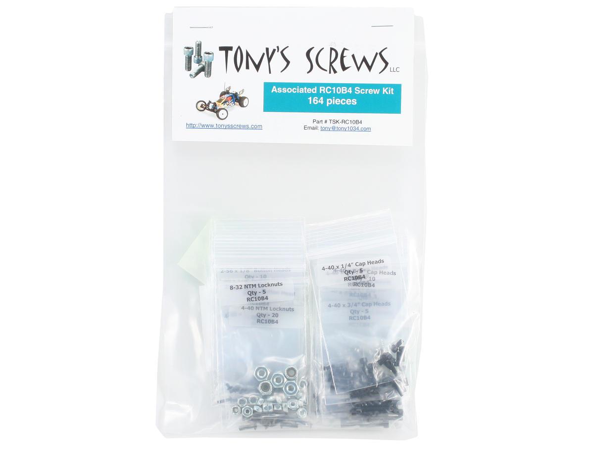 Associated RC10B4 Screw Kit by Tonys Screws