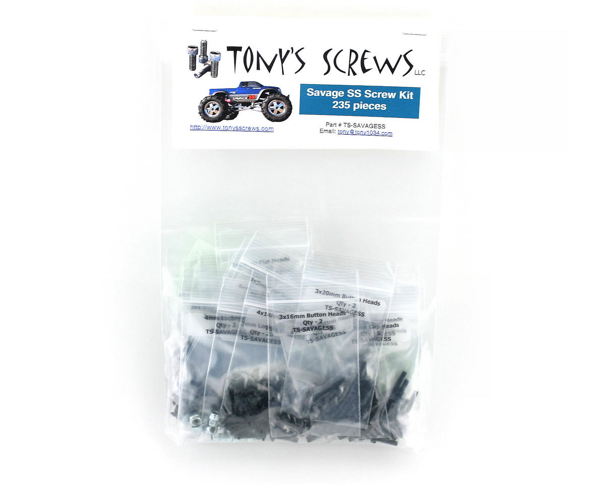 Tonys Screws HPI Savage SS Screw Kit