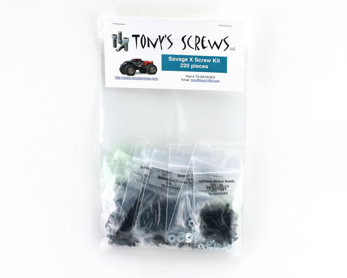 Tonys Screws HPI Savage X Screw Kit