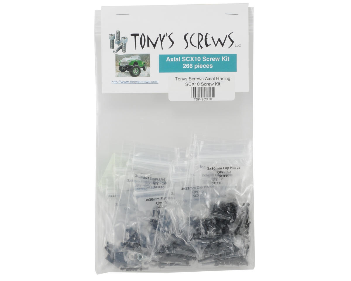 Tonys Screws Axial Racing SCX10 Screw Kit