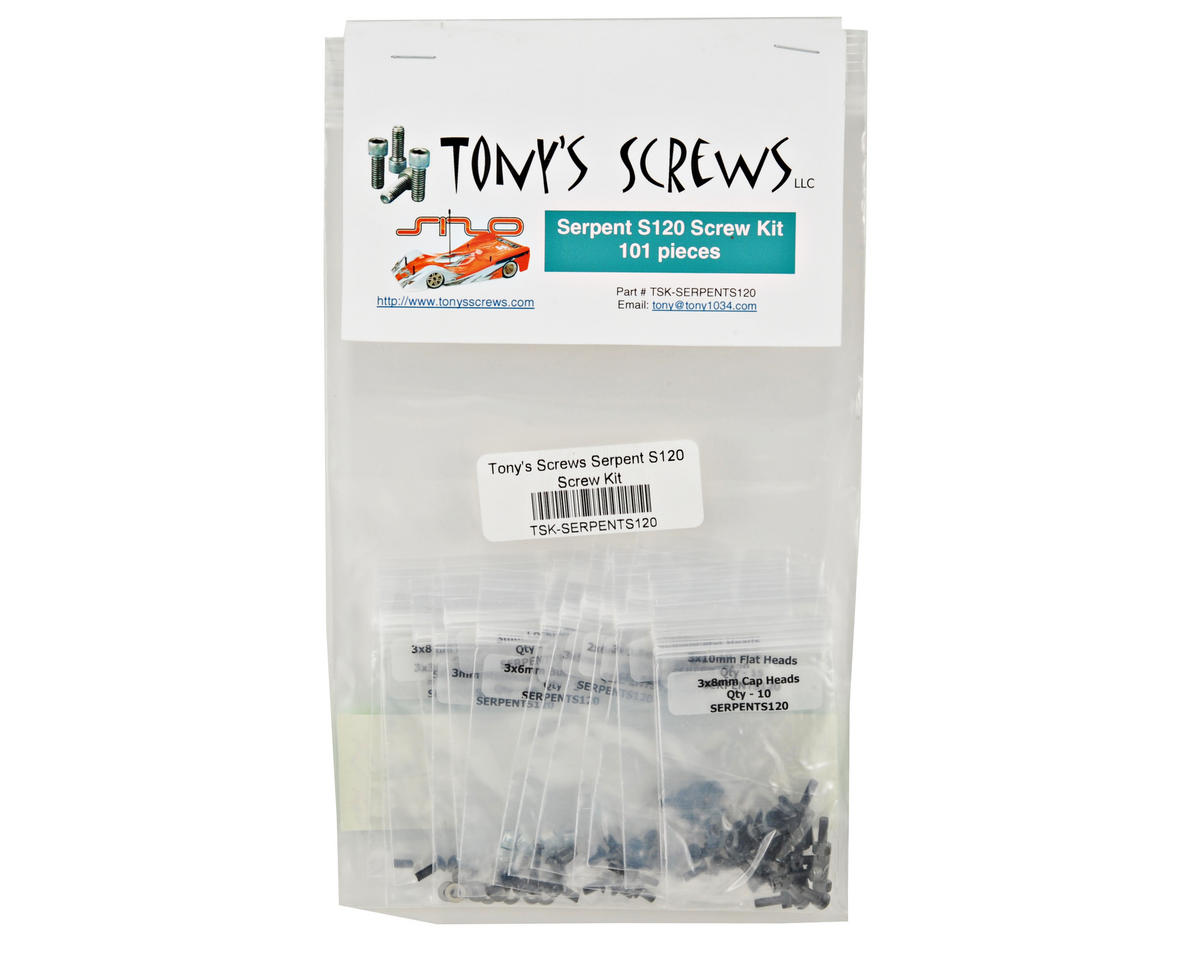 Tonys Screws Serpent S120L Screw Kit