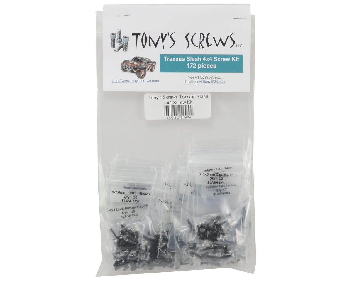 Traxxas Slash 4x4 Screw Kit by Tonys Screws
