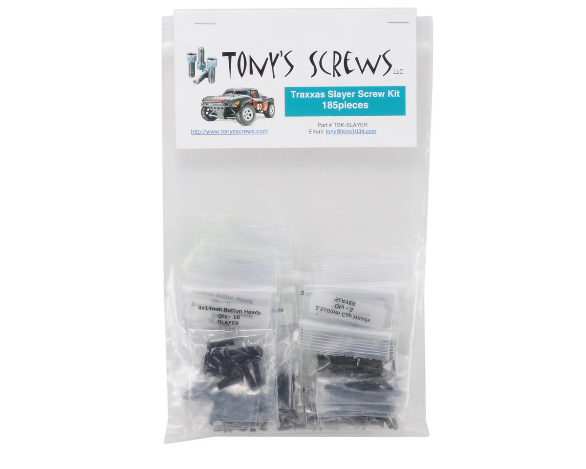 Tonys Screws Traxxas Slayer Screw Kit