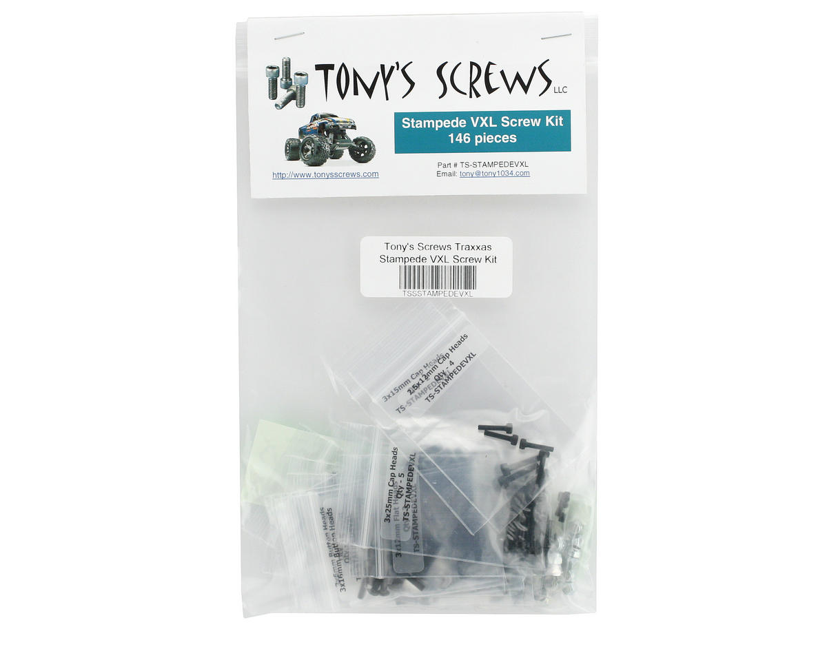 Traxxas Stampede VXL Screw Kit by Tonys Screws