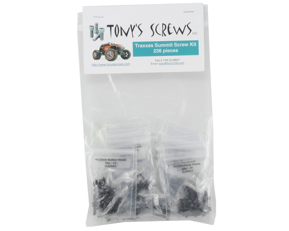 Tonys Screws Traxxas Summit Screw Kit