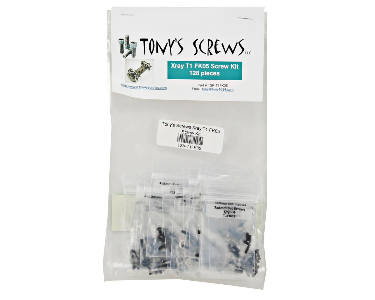 Tonys Screws XRAY T1 FK05 Screw Kit