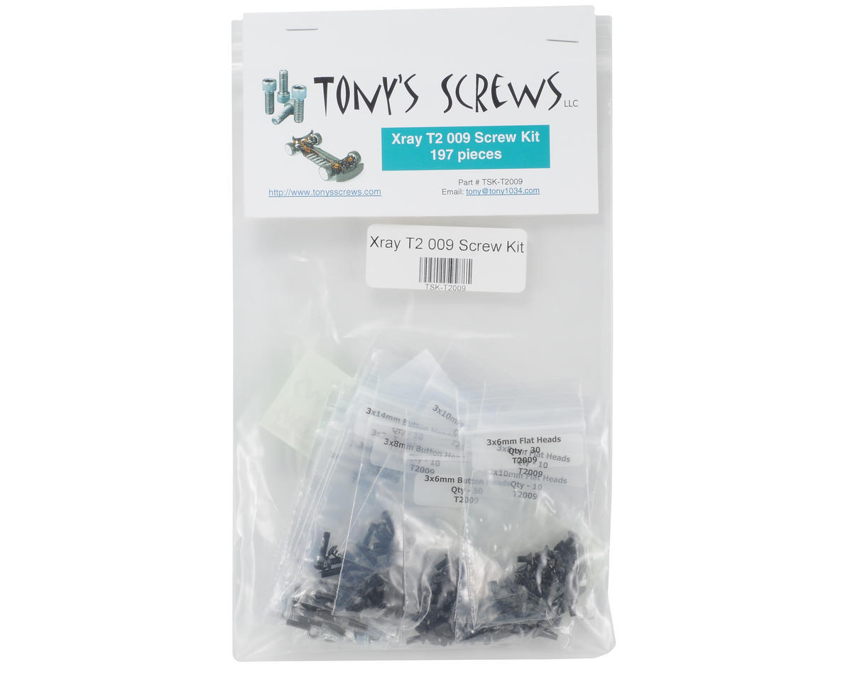 Tonys Screws XRAY T2'009 Screw Kit