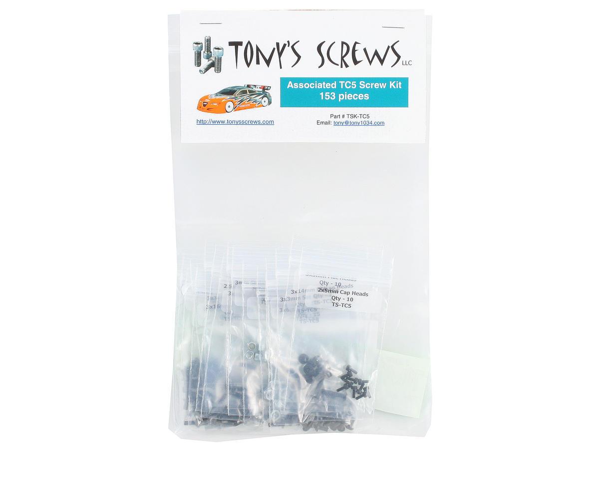 Tonys Screws Associated TC5 Screw Kit
