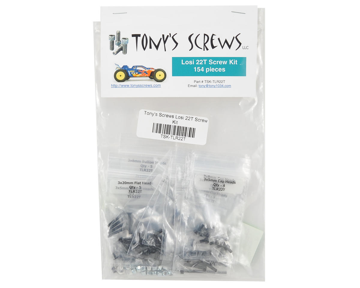 Tonys Screws Losi 22T Screw Kit
