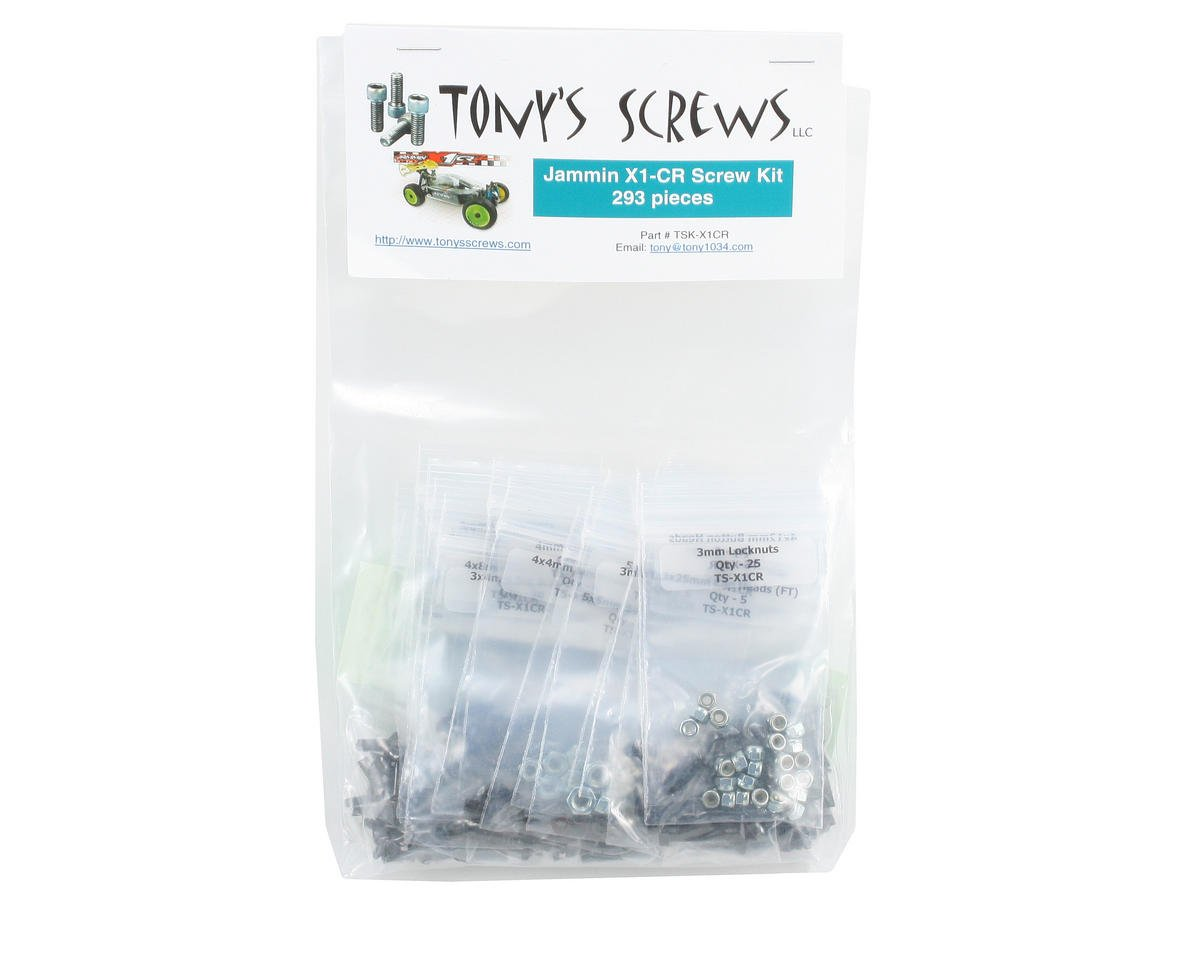 Tonys Screws Jammin X1-CR Screw Kit