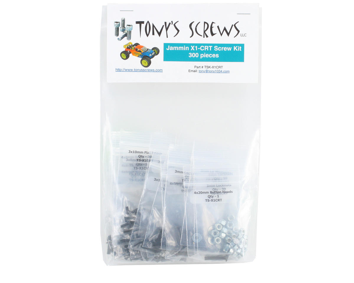 Tonys Screws Jammin X1-CRT Screw Kit