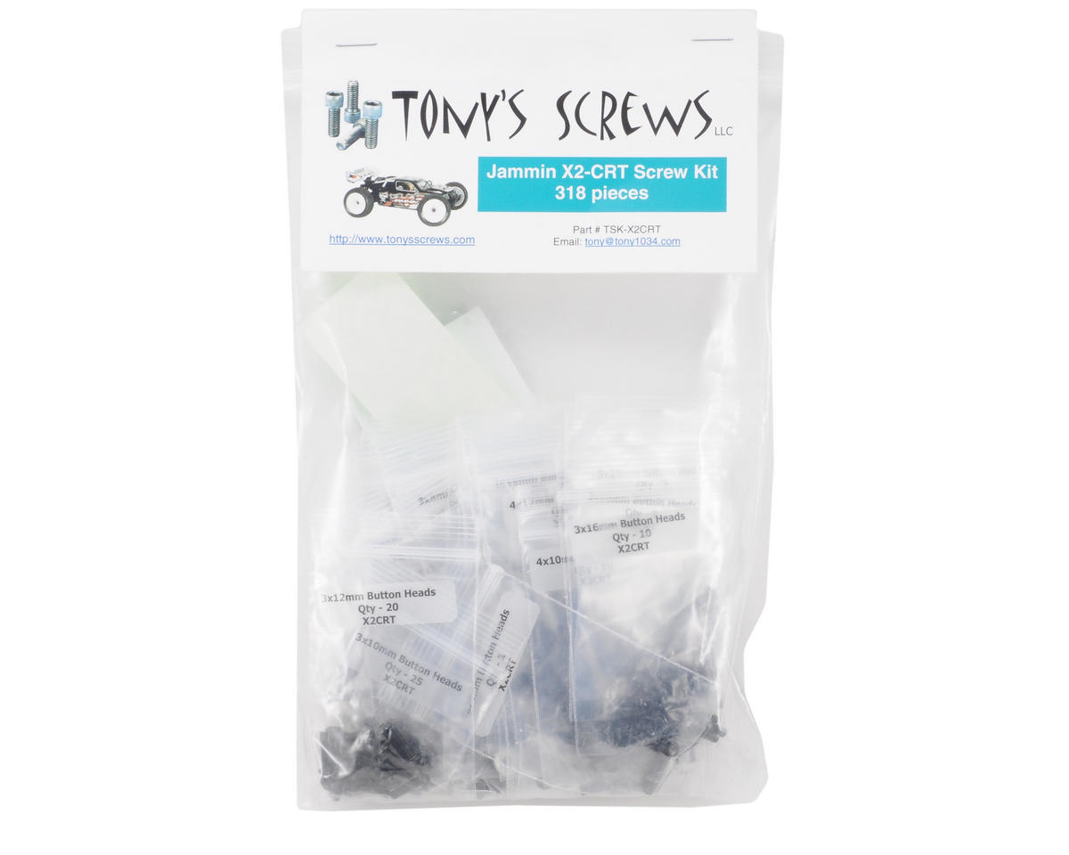 Tonys Screws Jammin X2-CRT Screw Kit