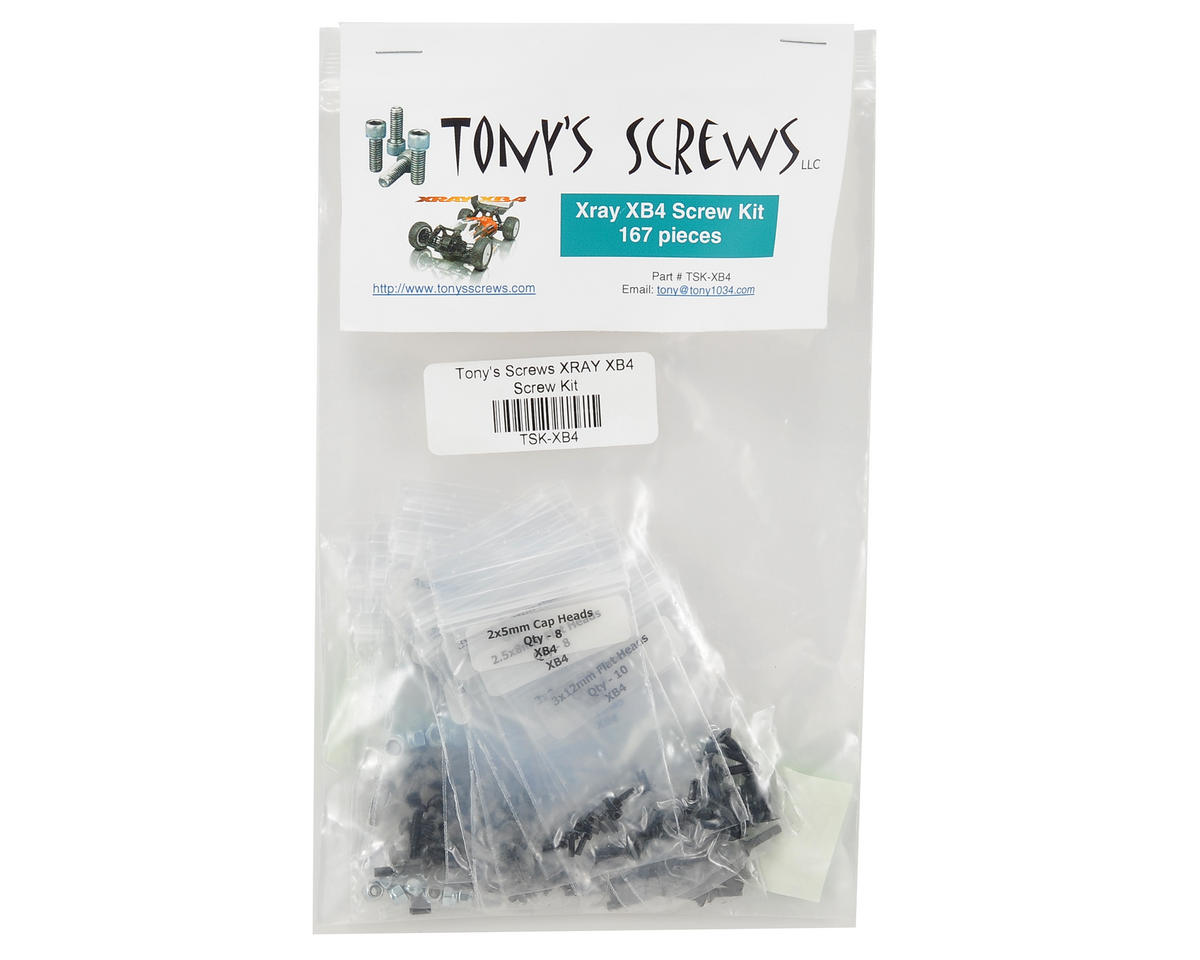XRAY XB4 Screw Kit by Tonys Screws