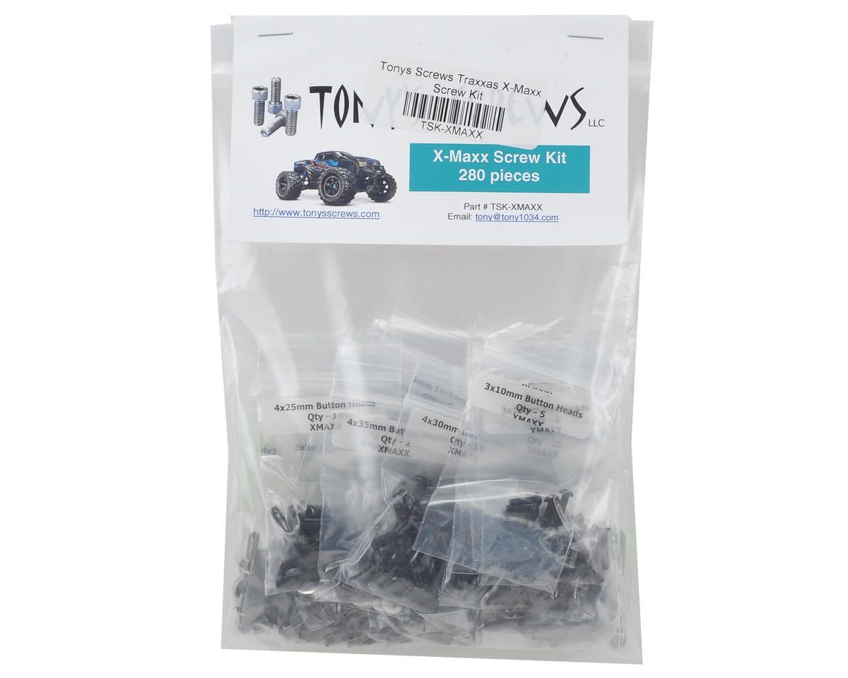 Tonys Screws Traxxas X-Maxx Screw Kit