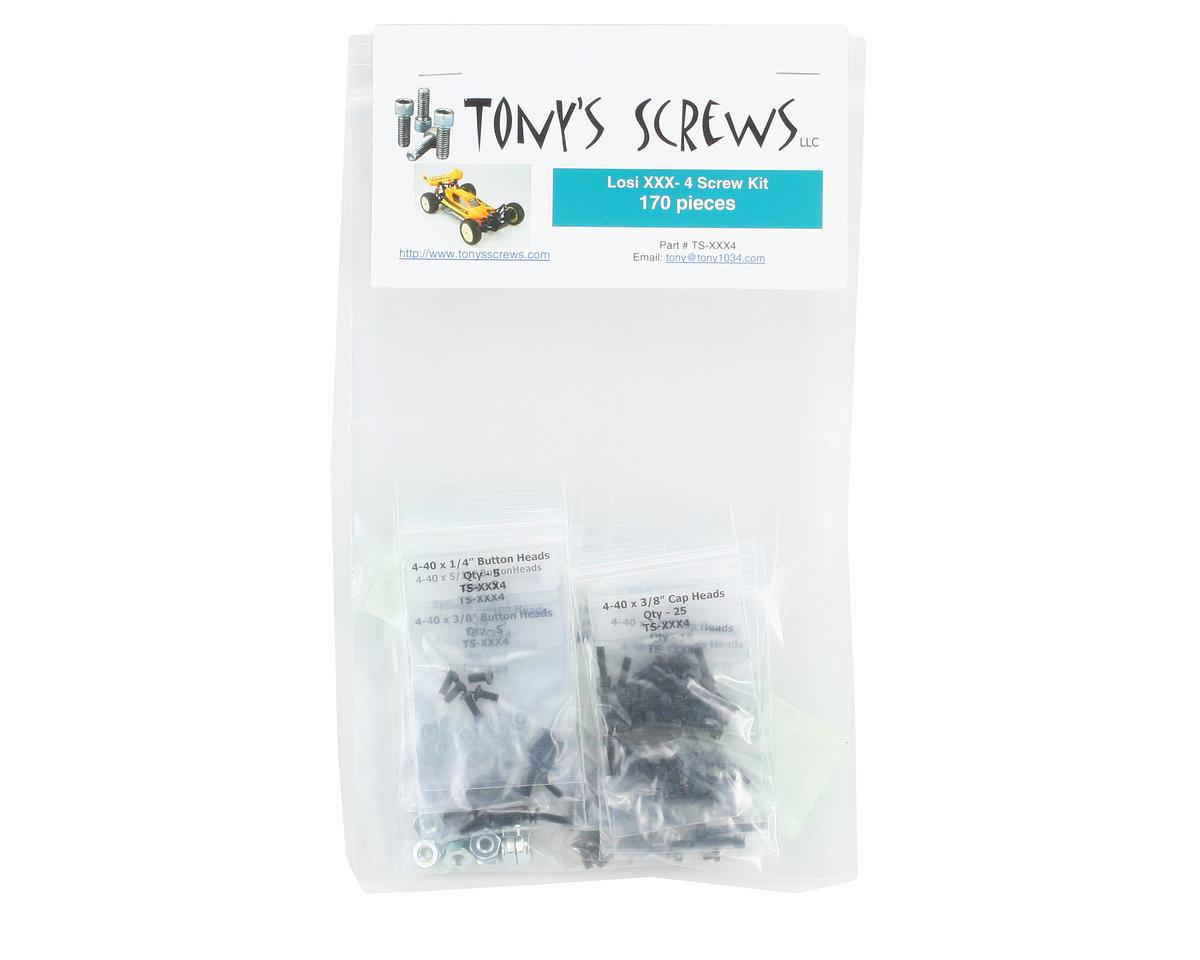 Tonys Screws Team Losi XXX-4 Screw Kit