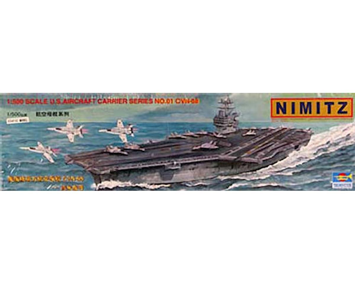 Trumpeter Scale Models 05201 1/500 USS Nimitz CVN-68 Aircraft Carrier