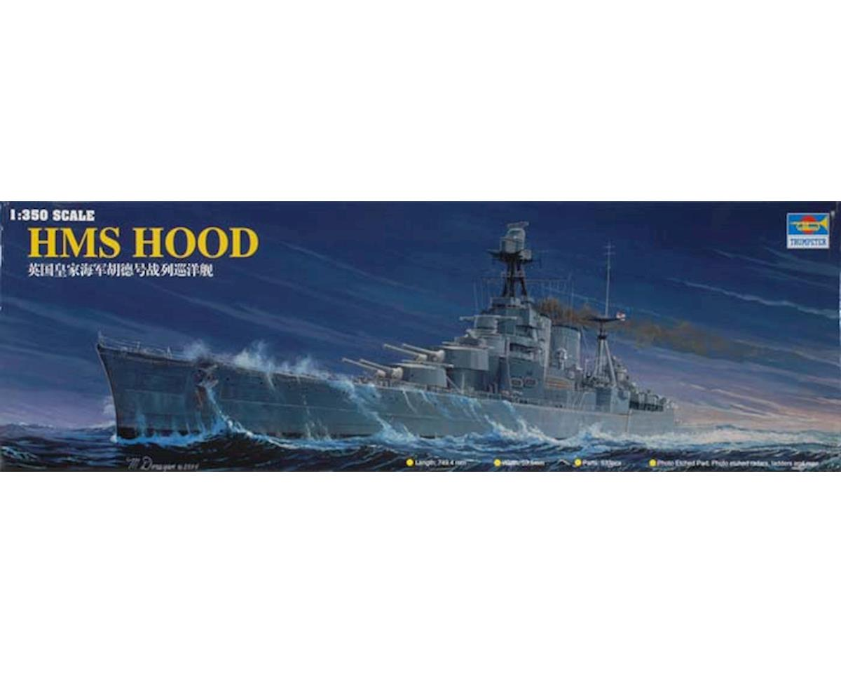 05302 1/350 HMS Hood Battleship by Trumpeter Scale Models