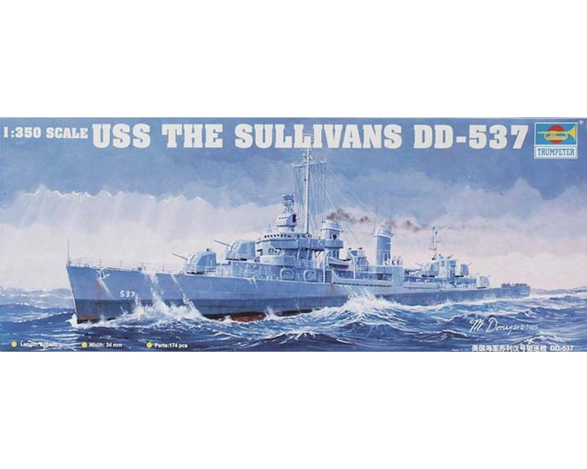Trumpeter Scale Models 05304 1/350 USS The Sullivans DD-537