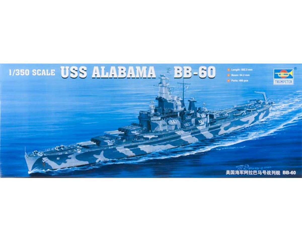 Trumpeter Scale Models 05307 1/350 USS Alabama BB-60 Battleship
