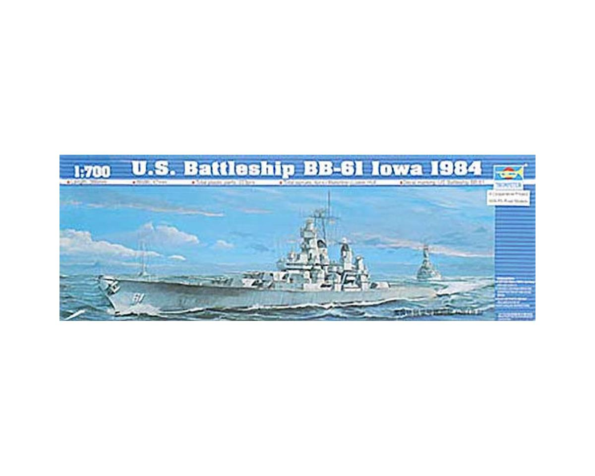 05701 1/700 U.S.S. Iowa BB-61 1984 by Trumpeter Scale Models