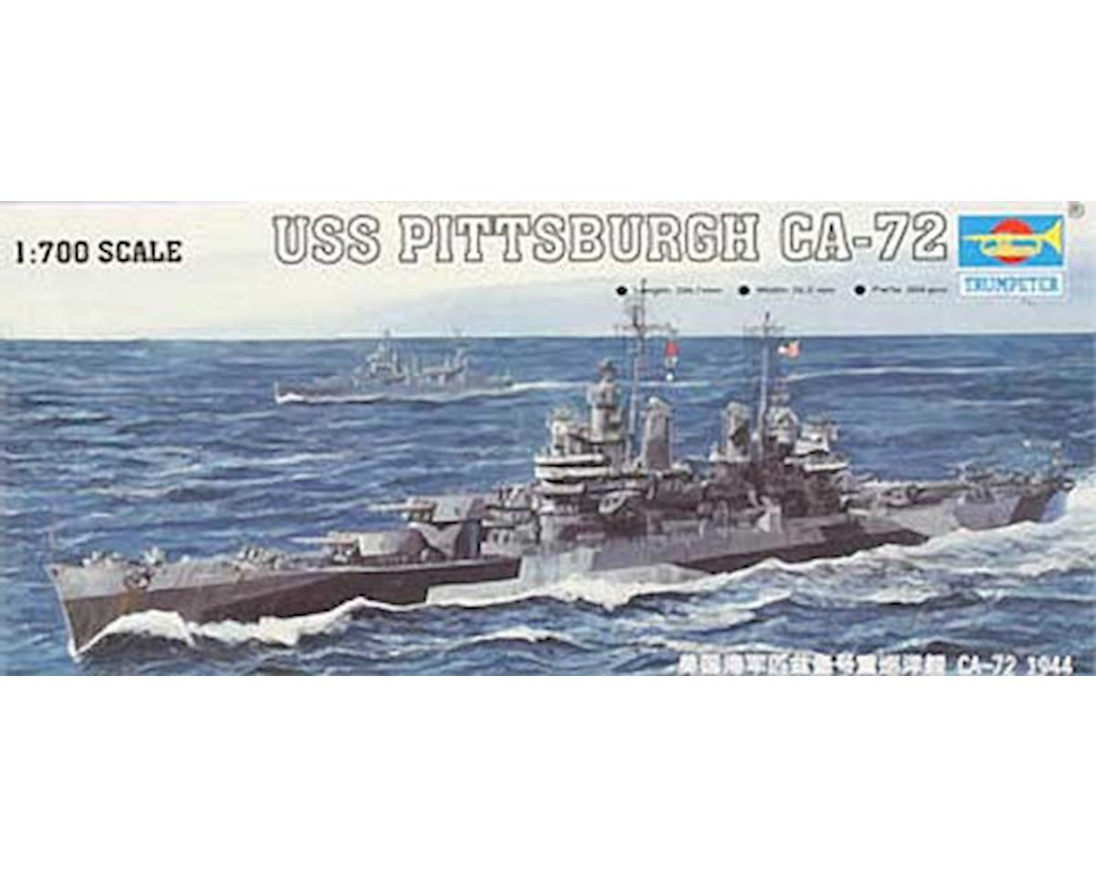 Trumpeter Scale Models 05726 1/700 '44 USS Pittsburgh CA-72 Cruiser
