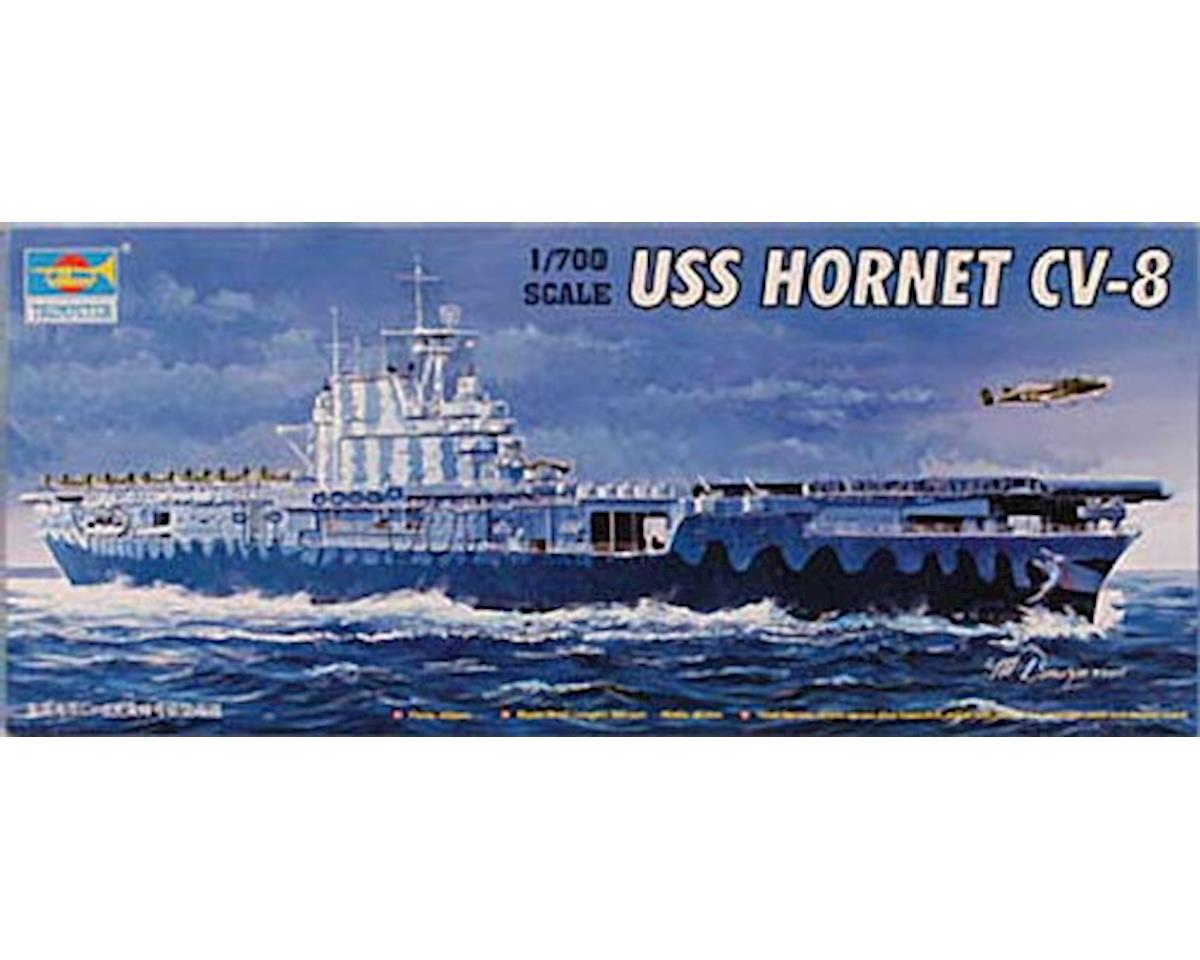 Trumpeter Scale Models 05727 1/700 U.S.S. Hornet CV-8 US Aircraft Carrier