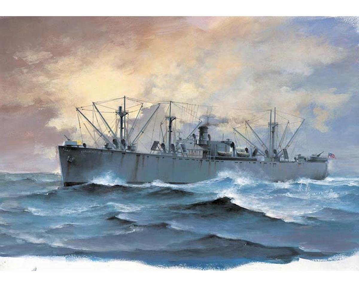 Trumpeter Scale Models 05755 1/700 SS Jeremiah O'Brien Liberty Ship