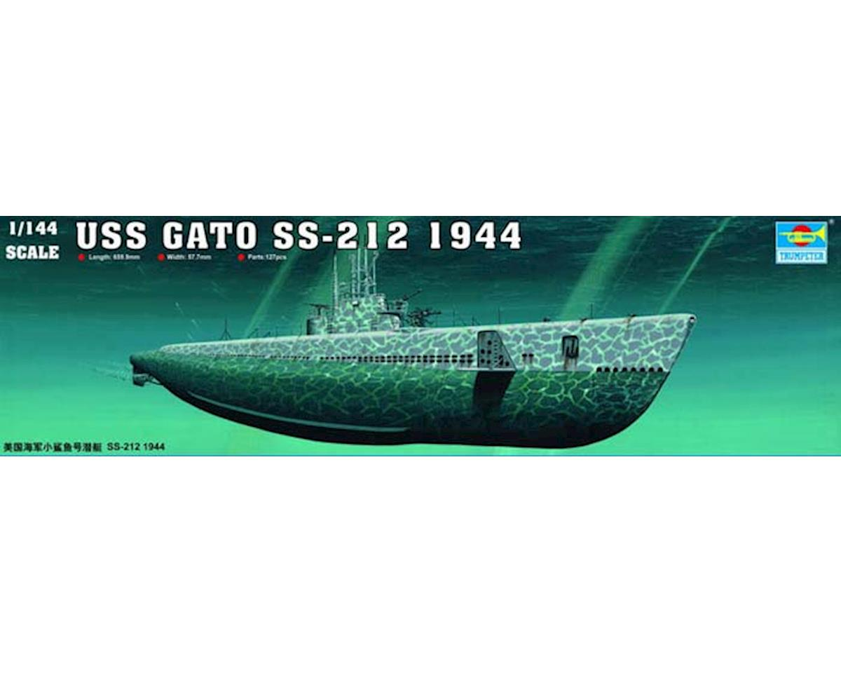 Trumpeter Scale Models 05906 1/144 USS Gato SS-212 Sub 1944