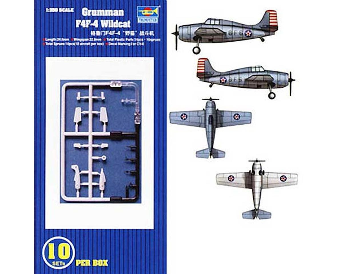 Trumpeter Scale Models 1/350 F4F-4 Wildcat Aircraft Carrier Fleet (10)