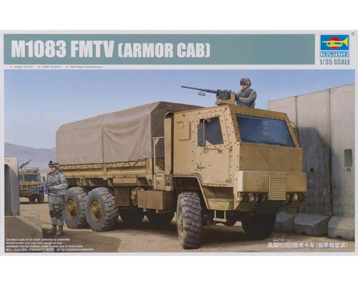 Trumpeter Scale Models 1008 1/35 US M1083 MTV Cargo Truck w/Armored Cab