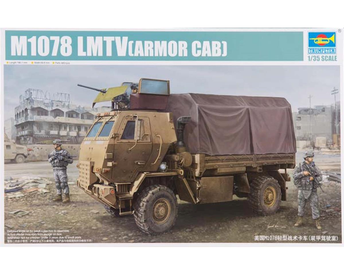 Trumpeter Scale Models 1009 1/35 M1078 LMTV Cargo Truck w/Armored Cab